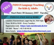 Indian Language Classes - Indian Association of Denmark (IAD)_2